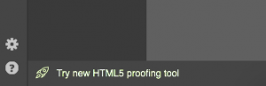 You can preview HTML on our proofing tool